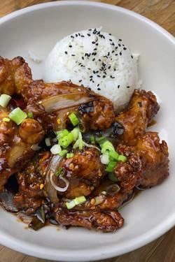 Hot Braised Chicken wings