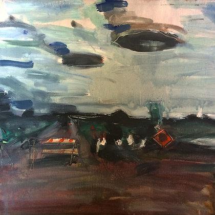 """Lenticular Clouds II 16"""" x 20"""" Giclée Print"""