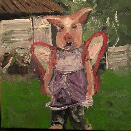 """Little Piggle 16"""" x 20"""" Giclée Print"""