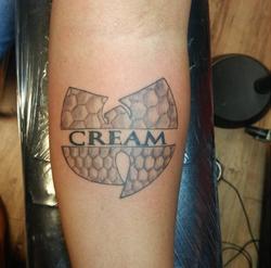 Len Cream Tattoo