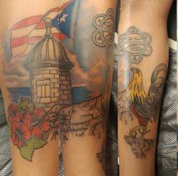 Len Color Tattoo