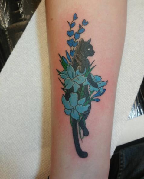 Len Panther Tattoo