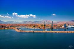 Einfahrt Hafen Palermo