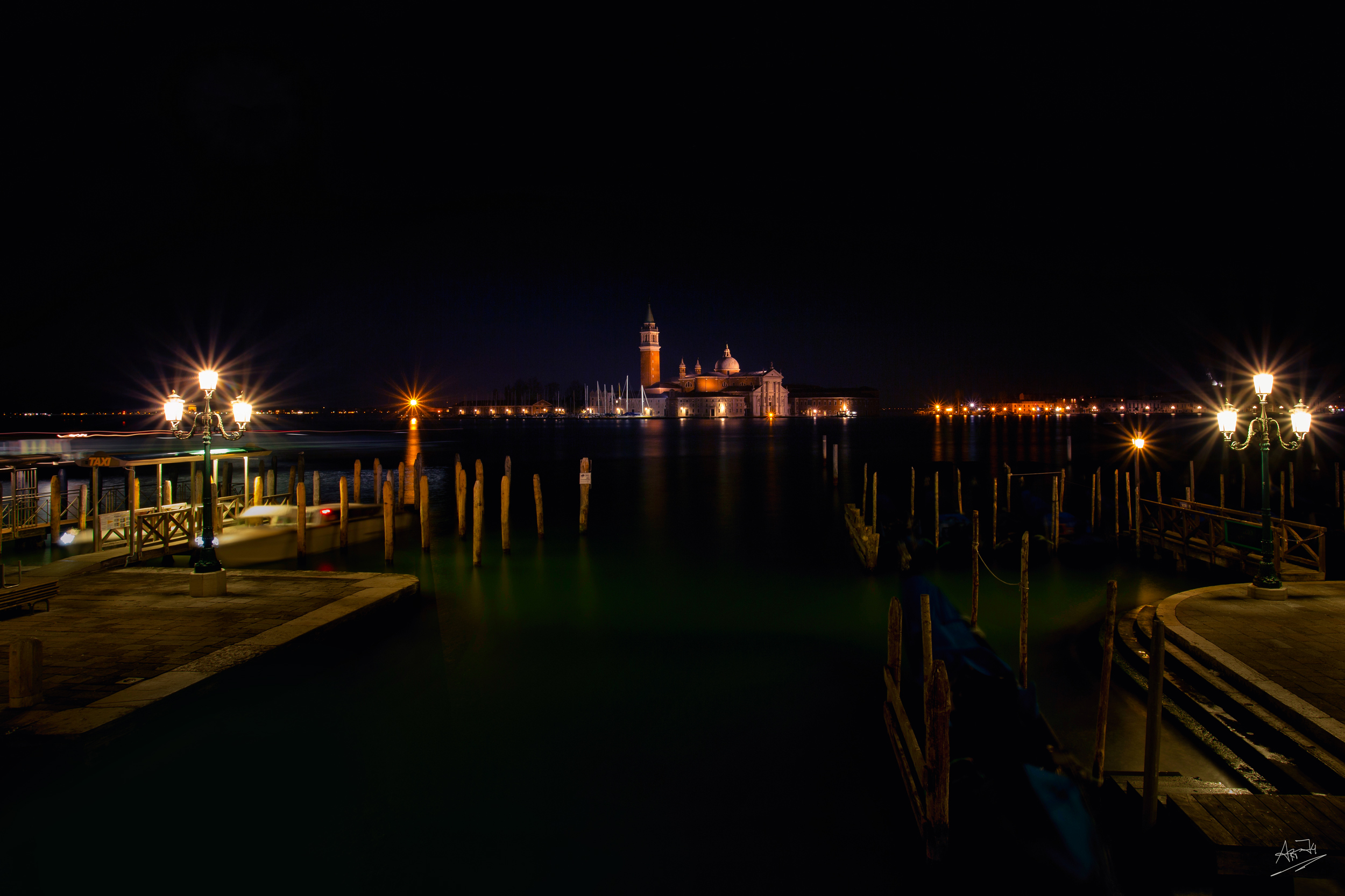 ART74 Venedig bei Nacht