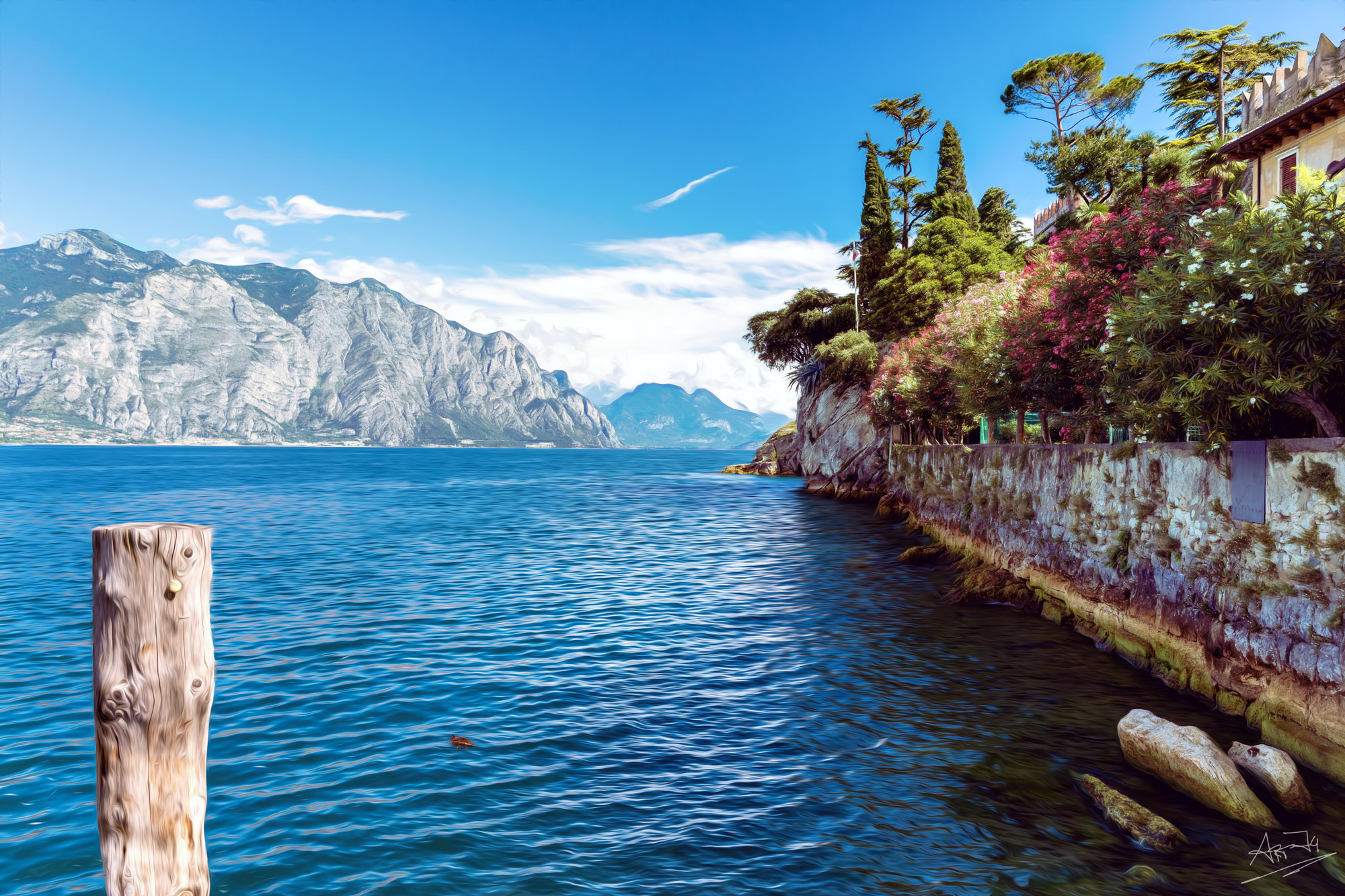 Steeg am Gardasee