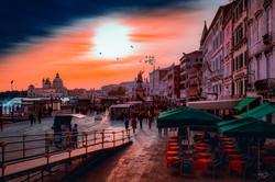 Venedig Sonnenuntergang