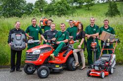 Hema Gartenbau Team