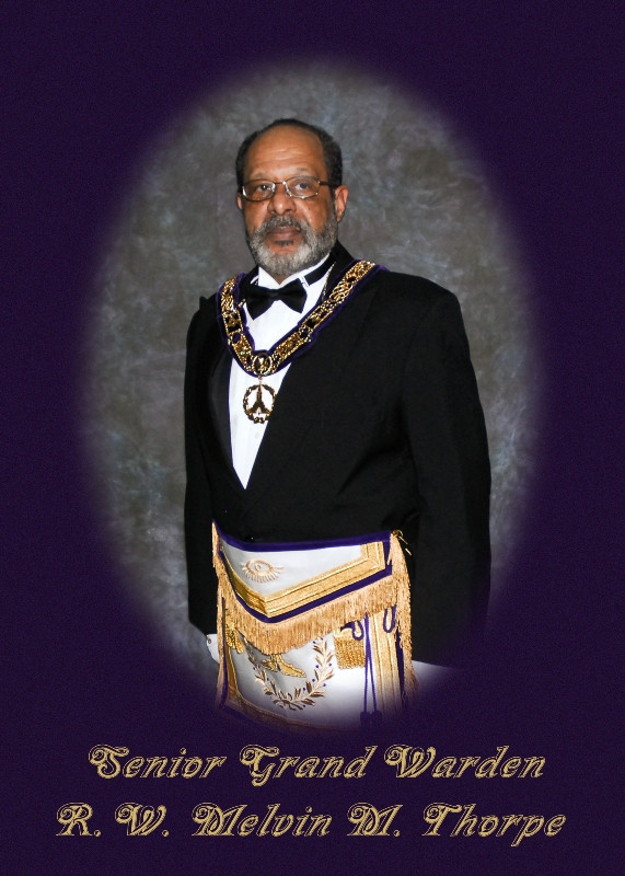 MWPGM Thorpe During His Tenure as Senior Grand Warden
