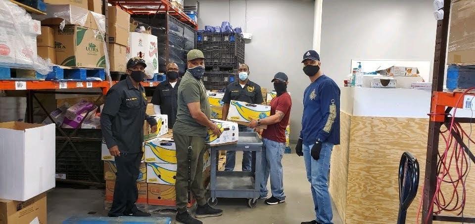 MBJ145 Serving at Howard County Food Bank Thanksgiving 2020