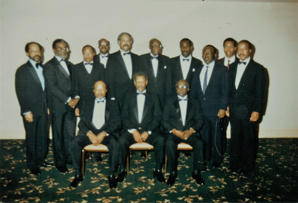 MBJ145 First Administration and Founding Members Inlcuding: PM Marshal, PM Robert Criss, PGM Mel Thorpe, PM Maceo Boston Jr., PM David H. White