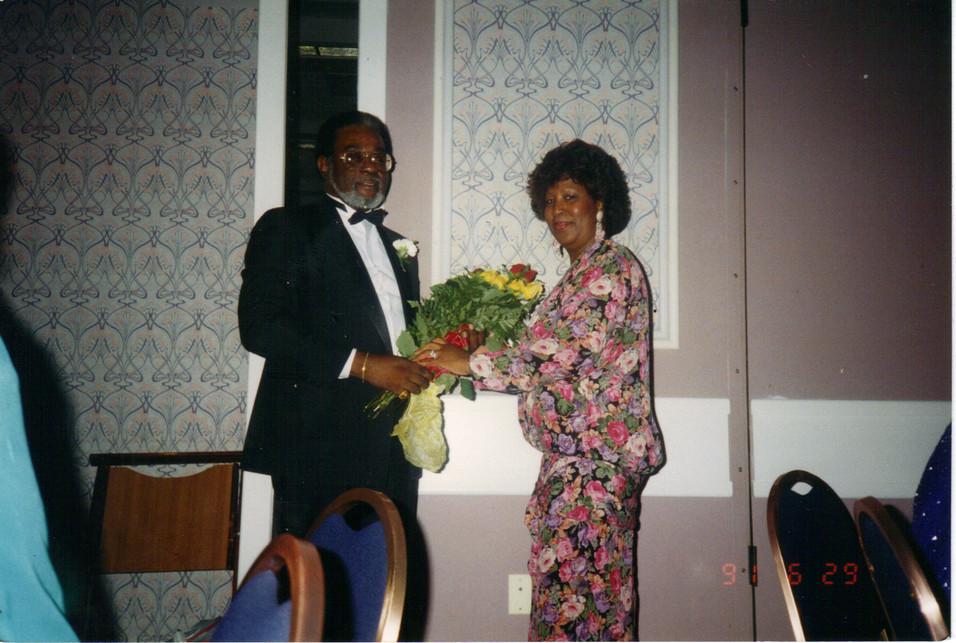 PM David H. White and Wife Dottie