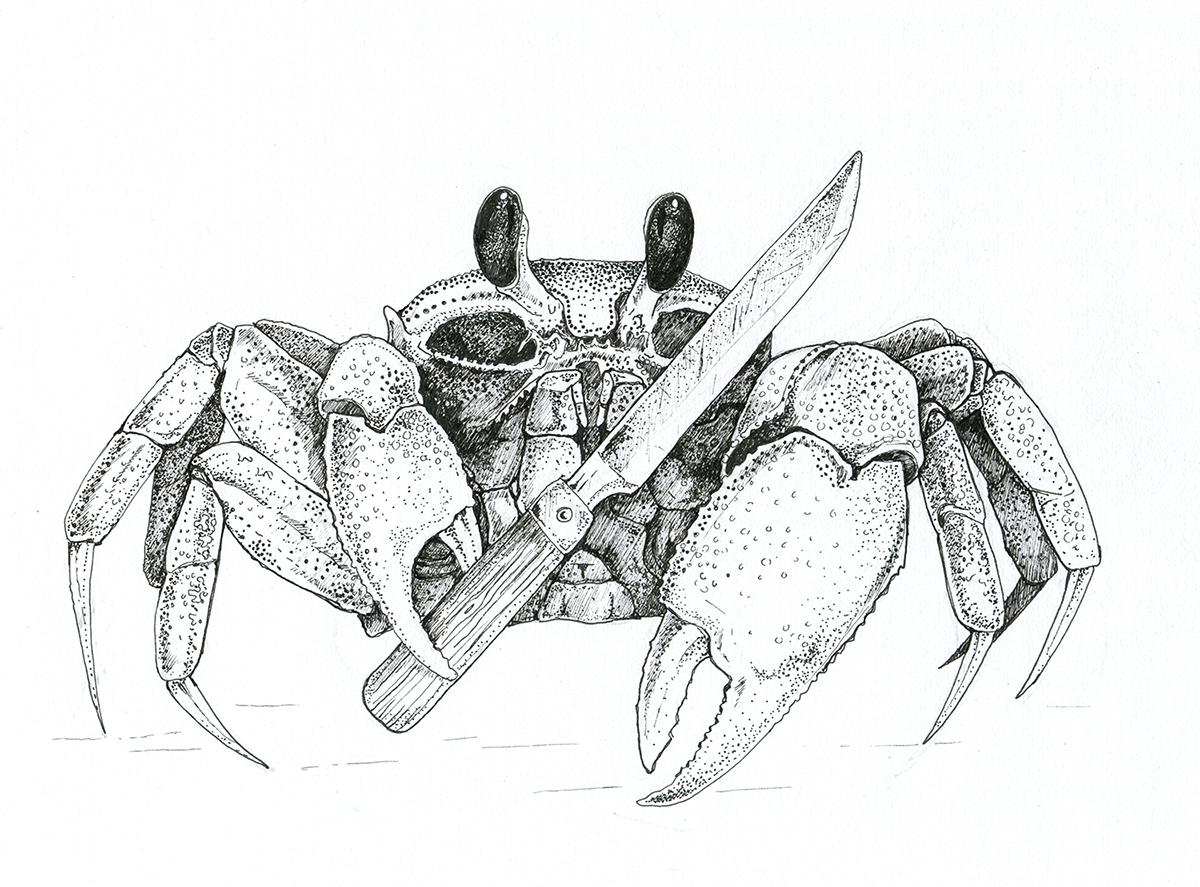 badass crab