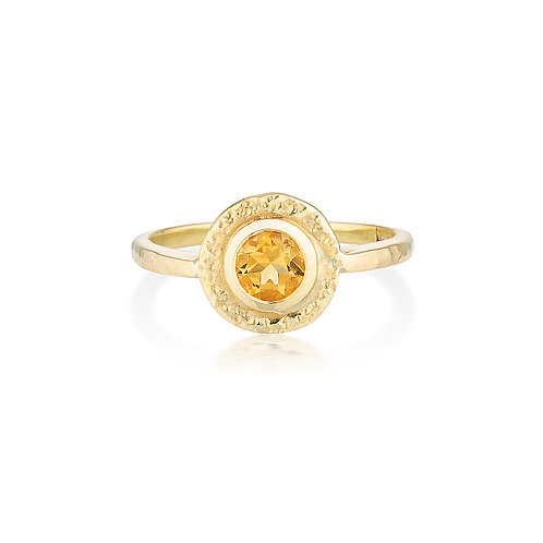 Citrine Pepper Ring