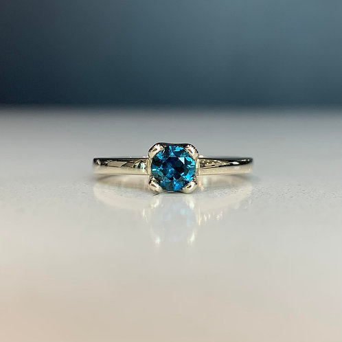 Teal Sapphire Alana Ring
