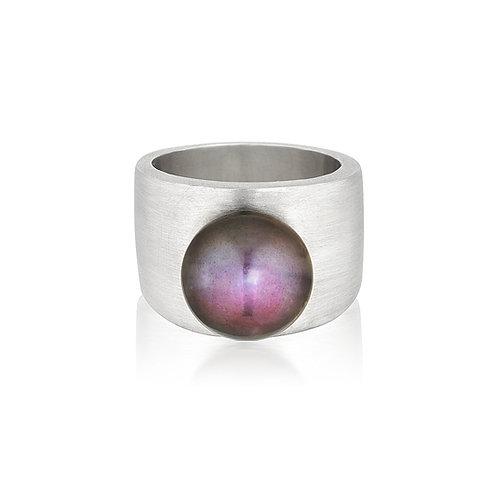 Zara Peacock Pearl Ring
