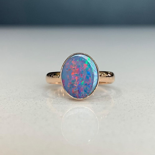 Opal & Rose Gold Ashleigh Ring