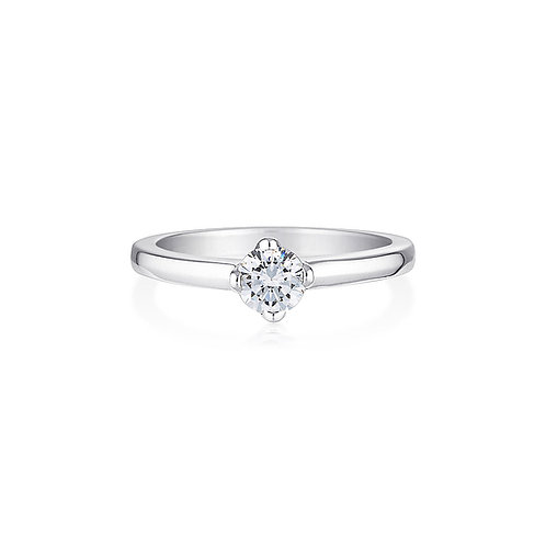 Yve Solitaire Ring