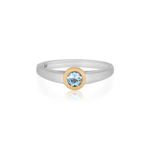Two Tone Pia Ring