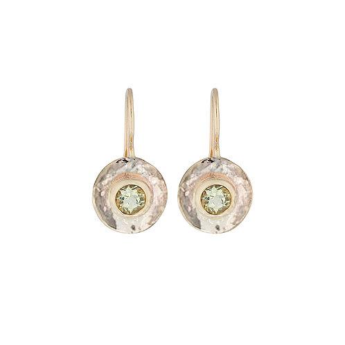Lemon Quartz Arabel Earrings