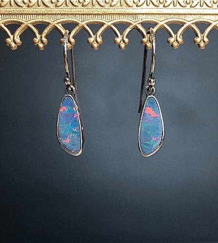 Sienna opal earrings