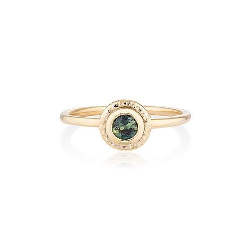 Parti Sapphire Pepper Ring