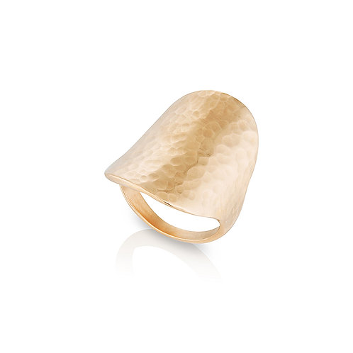 Rose Gold Shield Ring