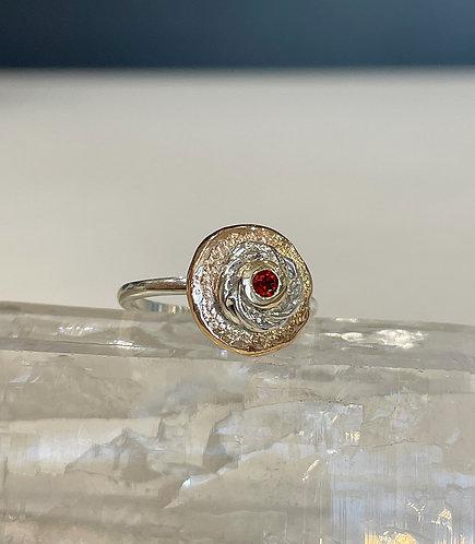 Garnet Chelsea ring