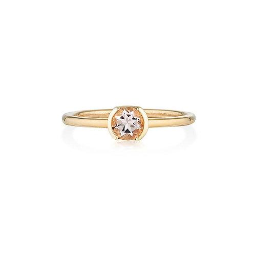 Morganite Ayva Ring