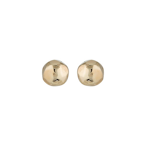 Gold facet studs