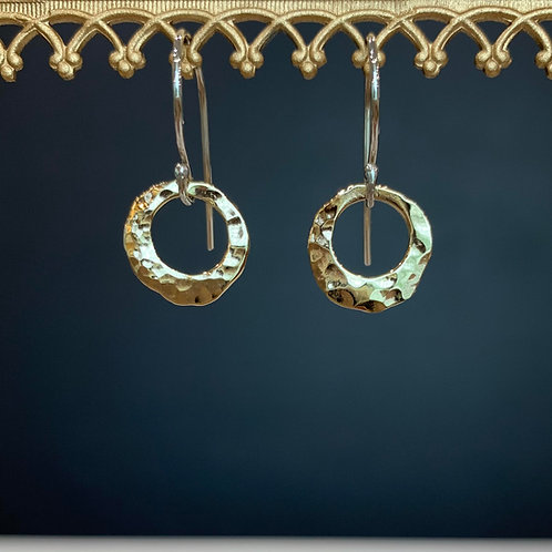 Lunar Eclipse Earrings