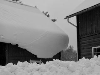 Viel Schnee und Lawinengefahr