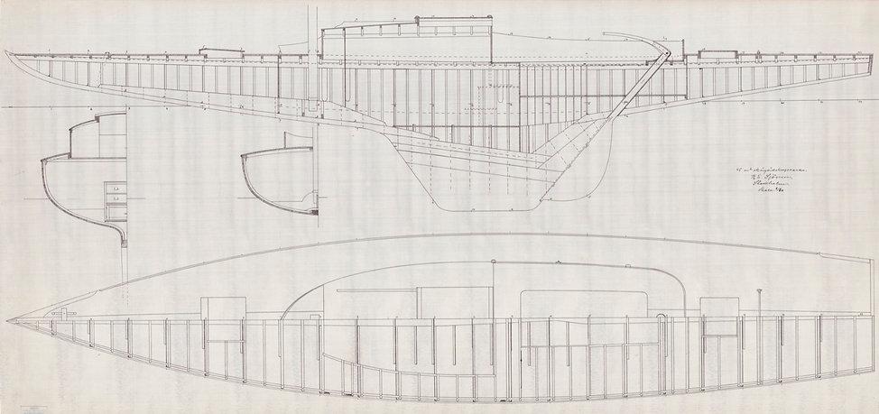 ritningen 1913 av Karl Einar Sjögren