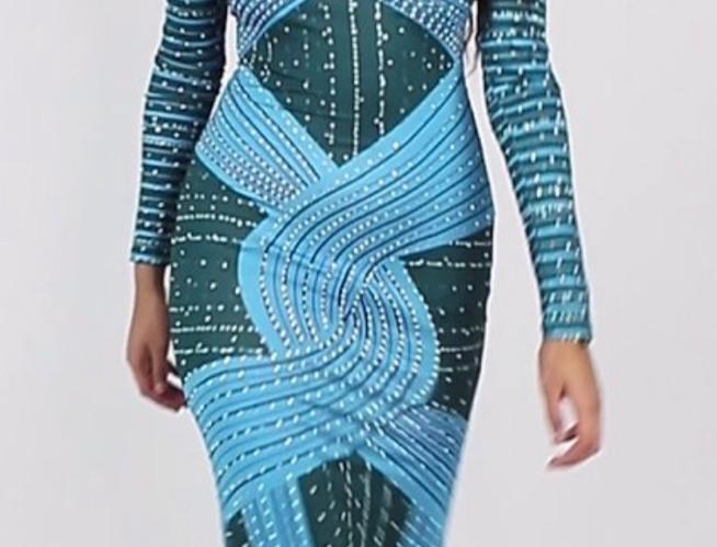 Teni Sparkles Dress