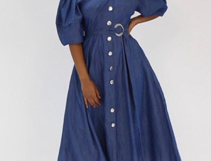 Hey Doll Denim Dress