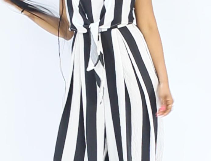 Stripe Jumpsuit (Clearance)