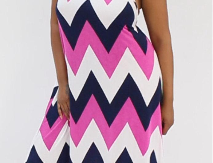 Pink Ziggy Dress