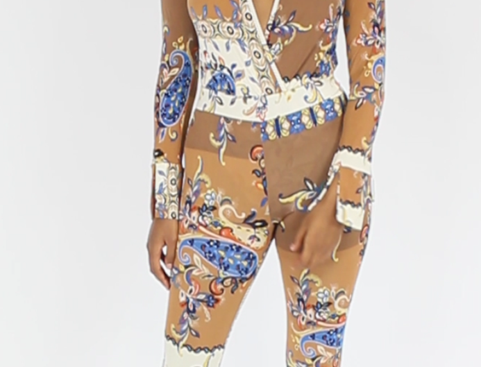 Fleur Bodysuit Set