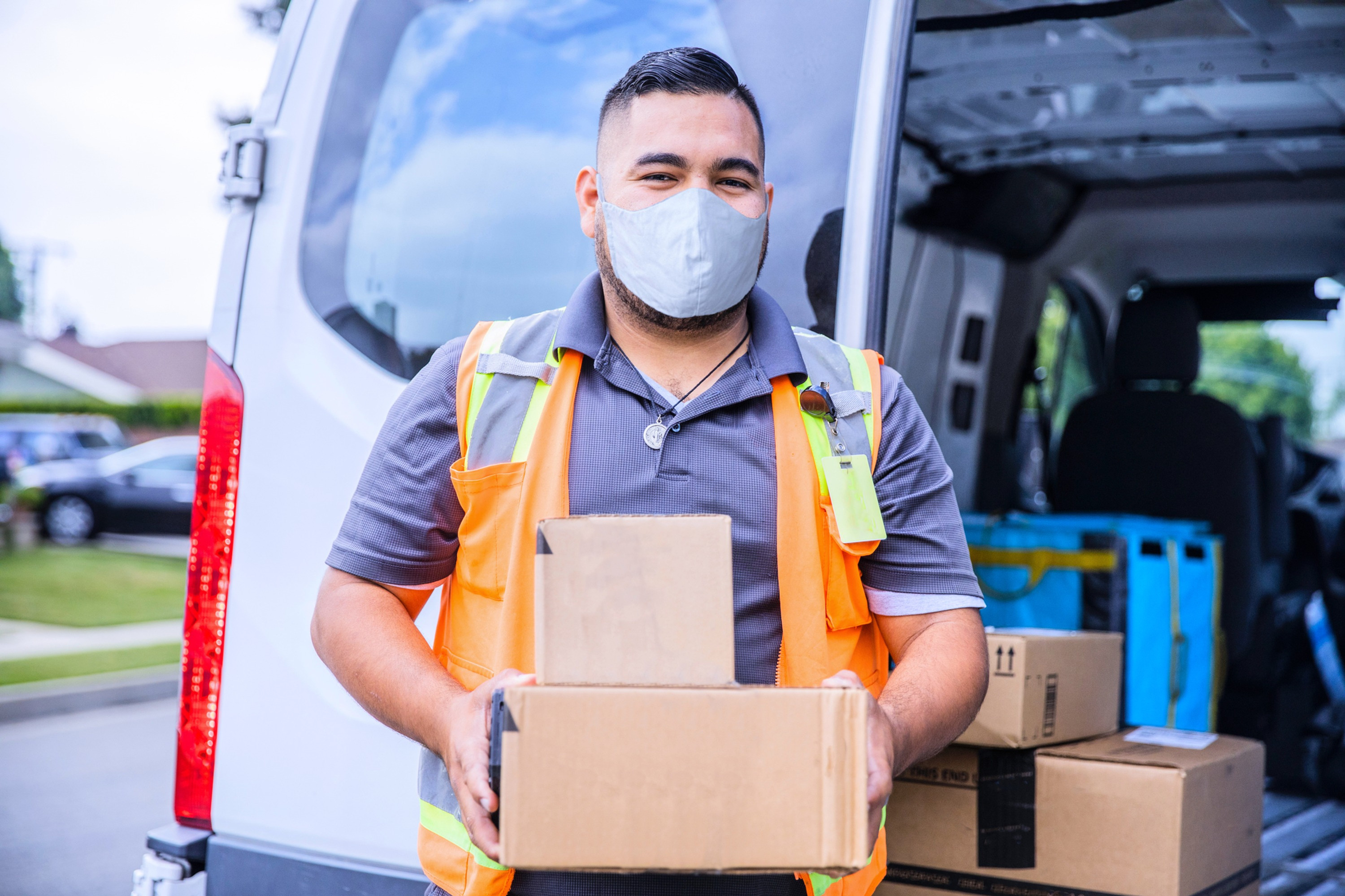 PPE Pick Up - South Los Angeles