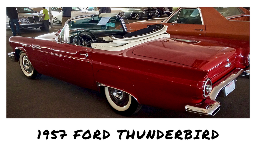 1957 Ford Thunderbird Convertible | Sold