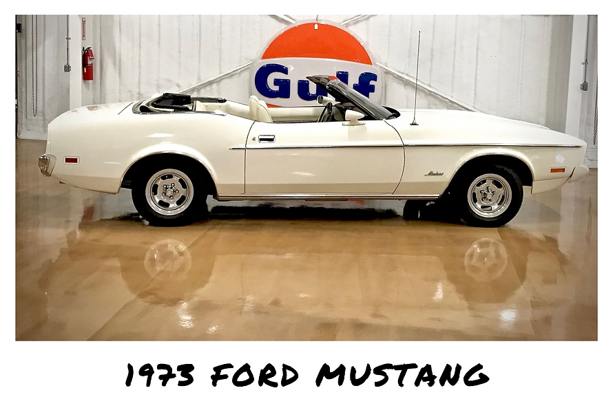 1973 Ford Mustang Convertible | Sold