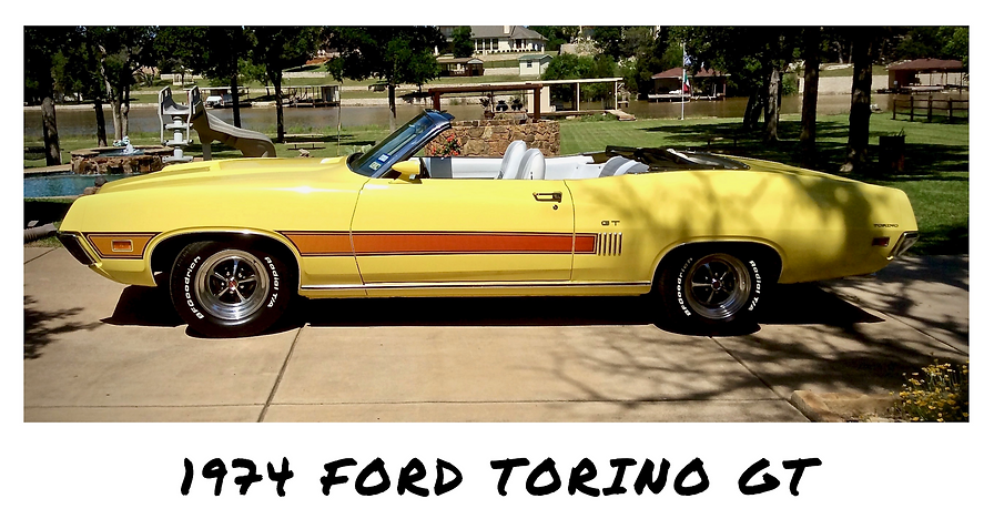 1974 Ford Torino GT Convertible | Sold