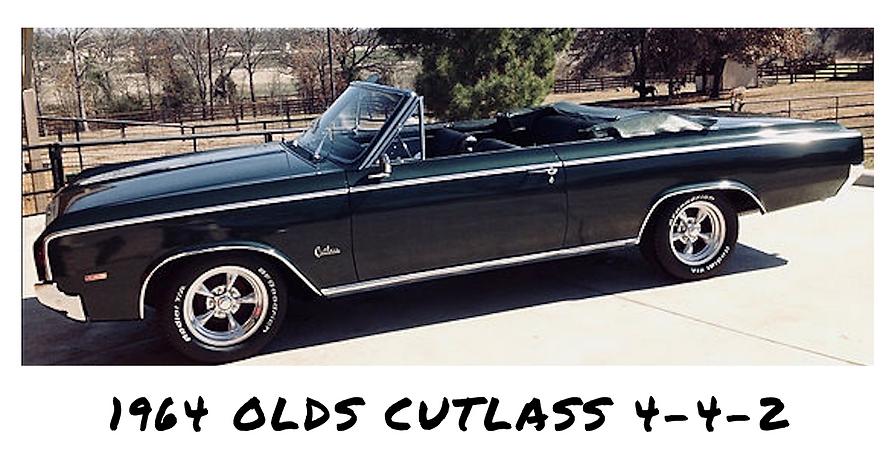 1964 Oldsmobilie Cutlass 442 Convertible | Sold