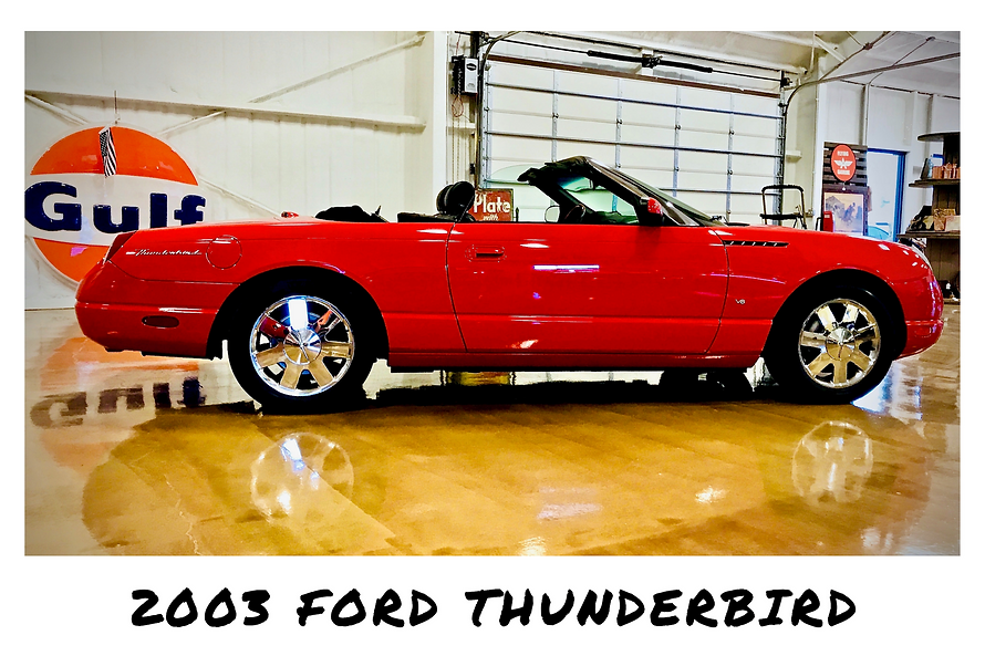2003 Ford Thunderbird Convertible | Sold