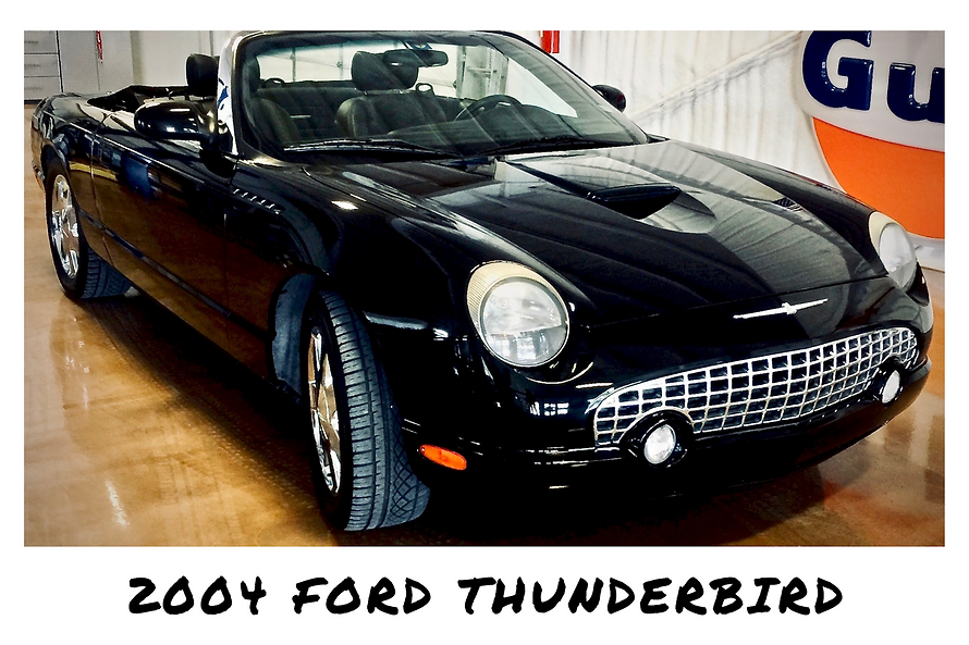 2002 Ford Thunderbird Convertible | Sold