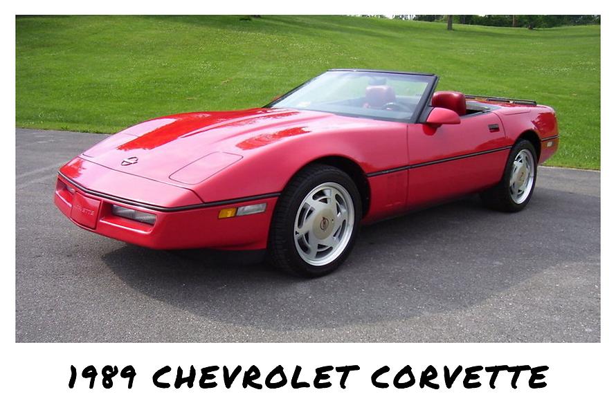 1989 Chevrolet Corvette C4 Convertible | Sold