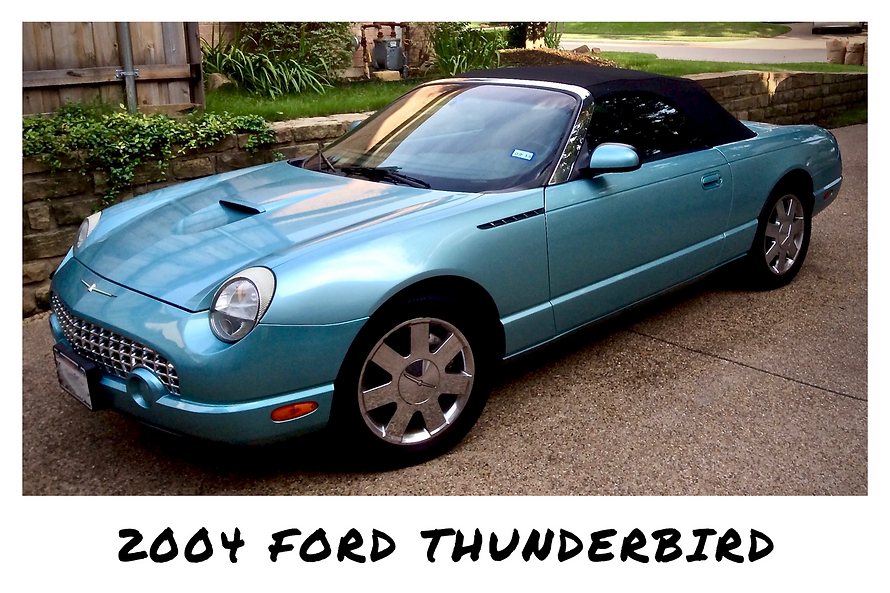 2004 Ford Thunderbird Convertible | Sold
