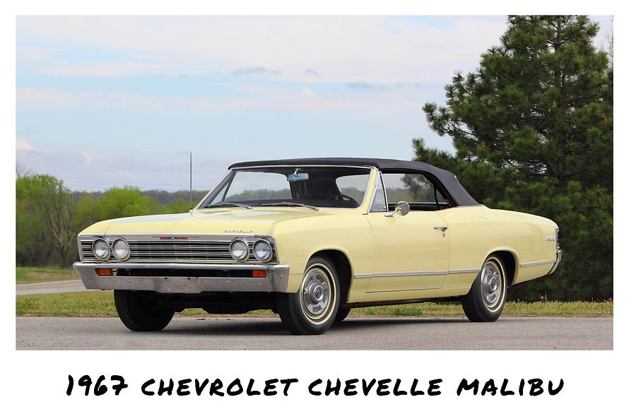 1967 Chevrolet Chevelle Malibu Convertible | Sold