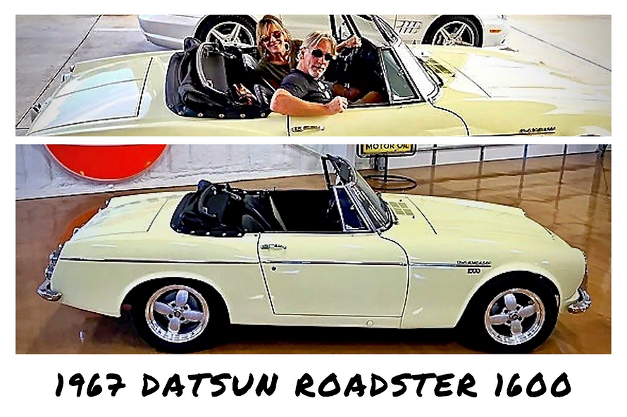 1967 Datsun Roadster 1600 Convertible | Sold