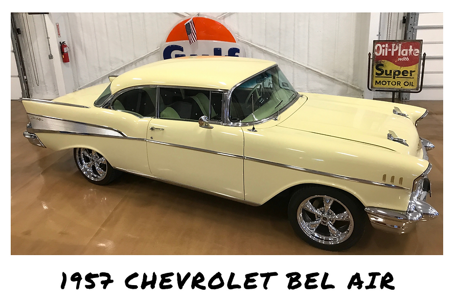 1957 Chevrolet Bel Air Sport Coupe | Sold