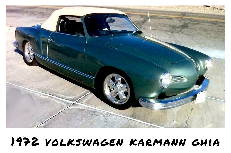 1972 Volkswagen Karmann Ghia Convertible | Sold